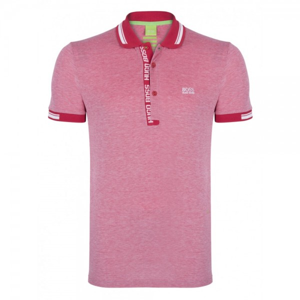 PACK 10 HUGO BOSS GREEN Label Poloshirt Paddy - Red/White 1