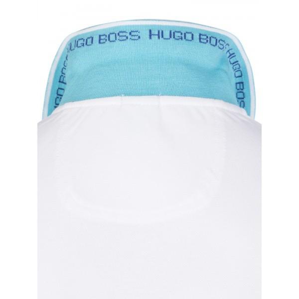 PACK 10 HUGO BOSS GREEN Label Poloshirt Paddy - White/Blue 2