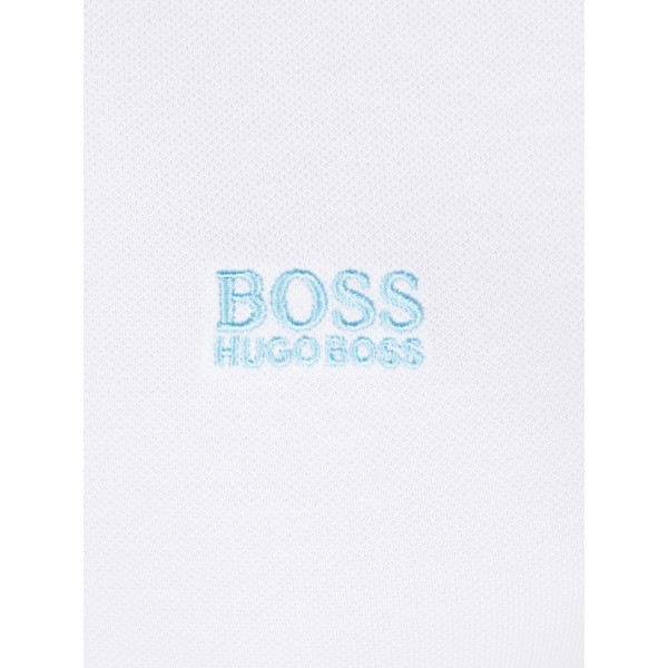 PACK 10 HUGO BOSS GREEN Label Poloshirt Paddy - White/Blue 3