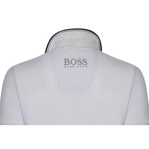 PACK 10 HUGO BOSS GREEN Label Poloshirt Paddy - White 1