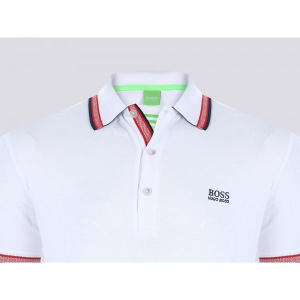 PACK 10 HUGO BOSS GREEN Label Poloshirt Paddy - White_2 1