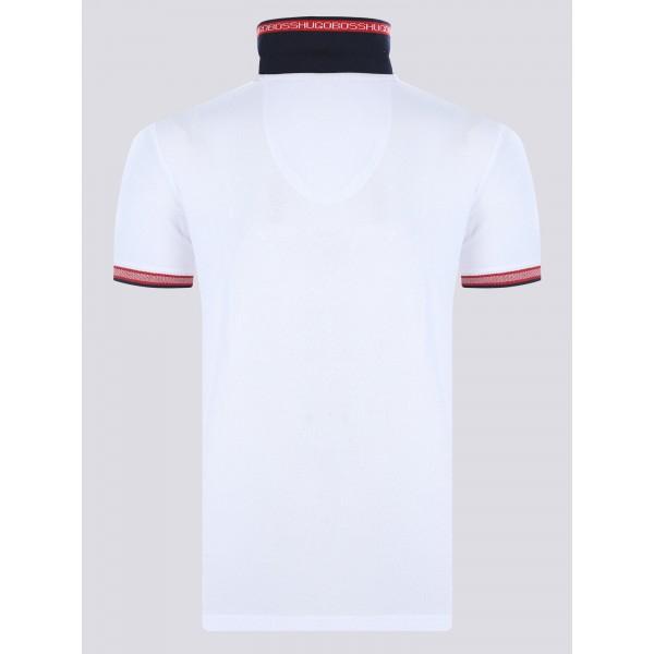 PACK 10 HUGO BOSS GREEN Label Poloshirt Paddy - White_2 2
