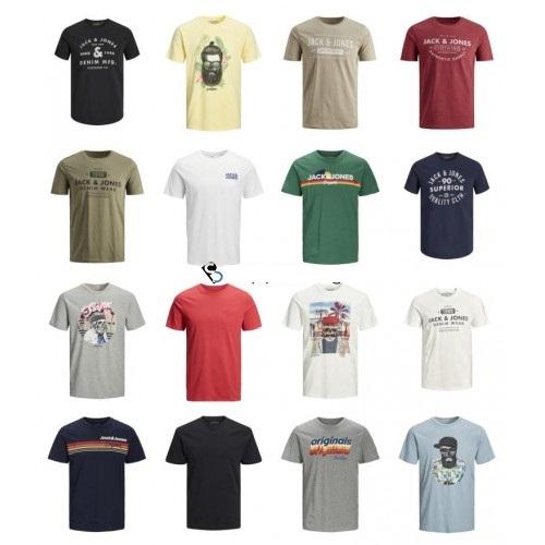 Pack 100 JACK&JONES Mens T-shirts 0