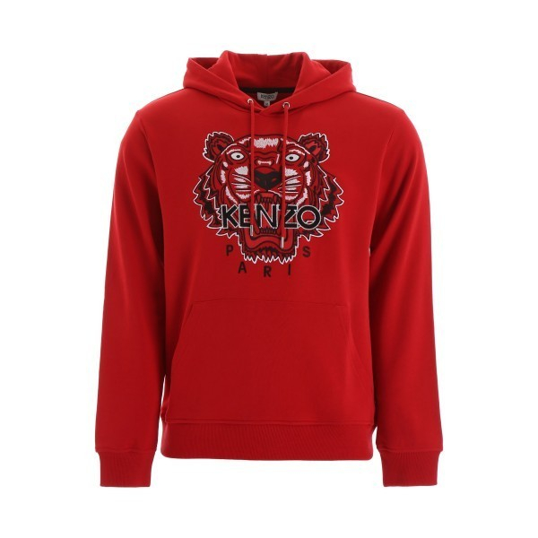 PACK 5 Kenzo Icon Classic Tiger Pullover Hoodie –Red 0