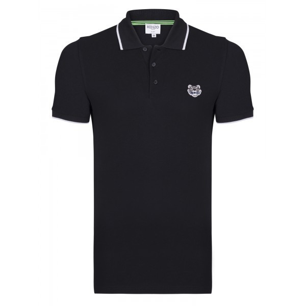 PACK 5 Kenzo  Cotton Polo Shirt -Black 0