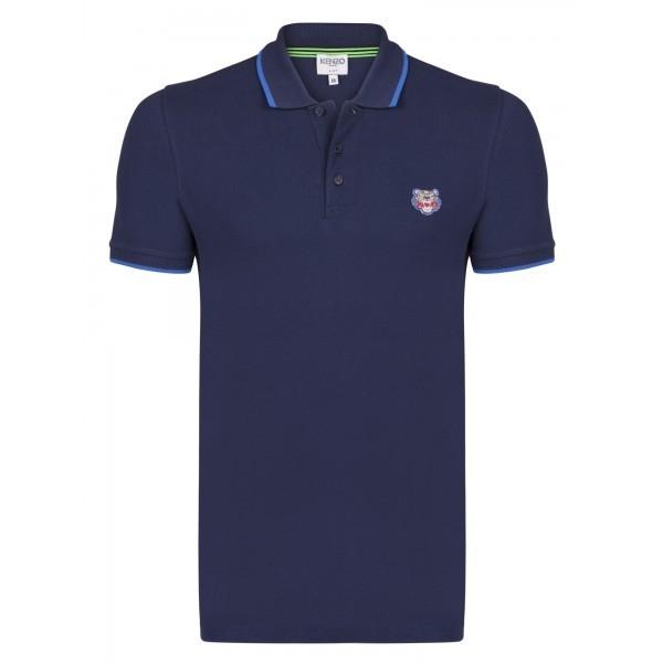 PACK 5 Kenzo  Cotton Polo Shirt -Blue Navy 0