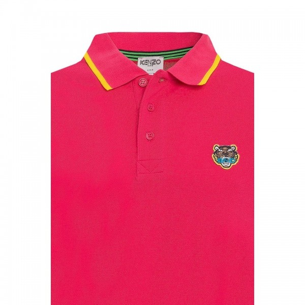 PACK 5 Kenzo  Cotton Polo Shirt - Pink 1