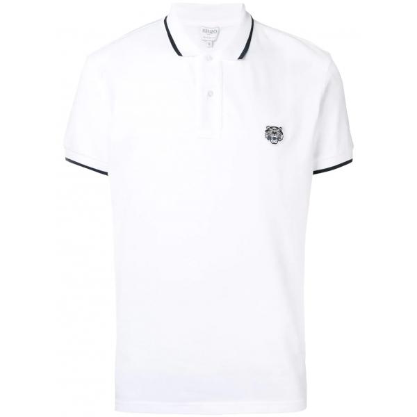 PACK 5 Kenzo  Cotton Polo Shirt -White 0