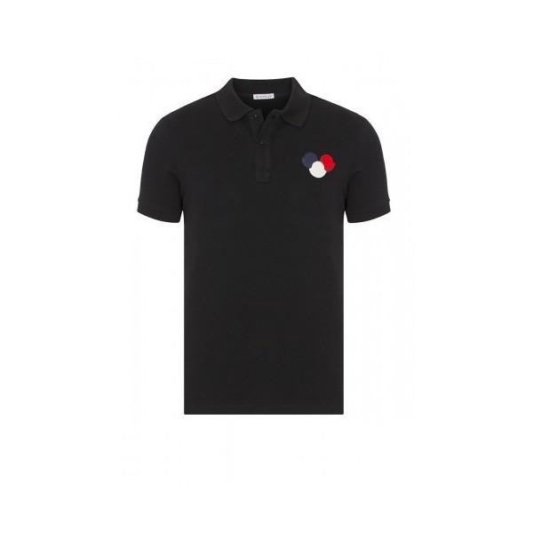 PACK 5 MONCLER Poloshirt Men –Black 0