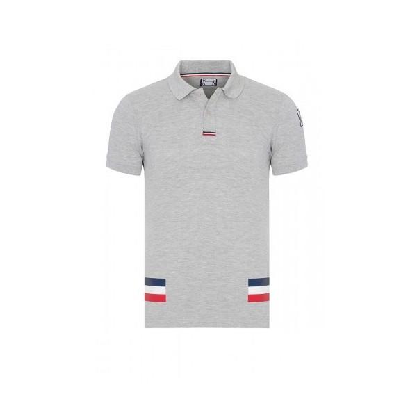 PACK 5 MONCLER Poloshirt Men –Gray 0