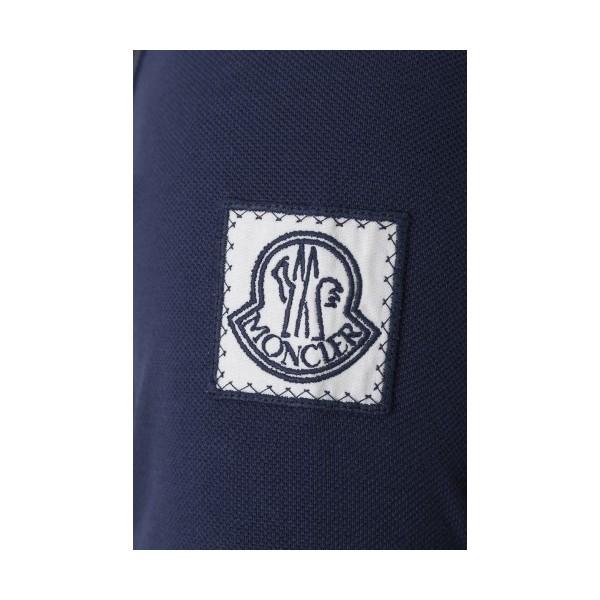 PACK 5 MONCLER Poloshirt Men-Navy 2