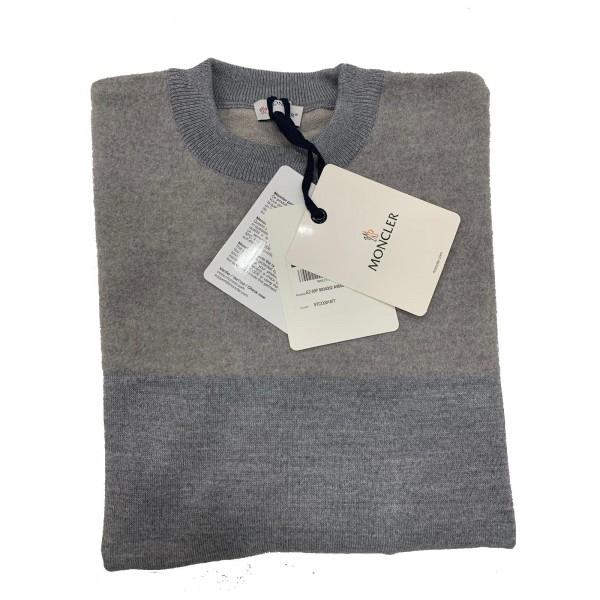 PACK 5 MONCLER tricot stripe virgin wool  Beige / Grey 0