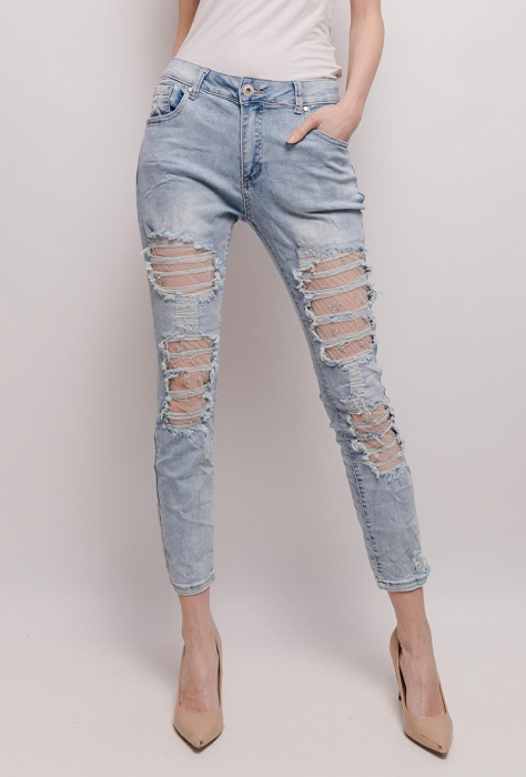 PACK 10 STARBEST women ripped jeans 0