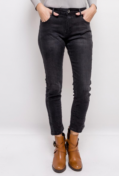 PACK 10 STARBEST women regular jeans with shiny stripes 0