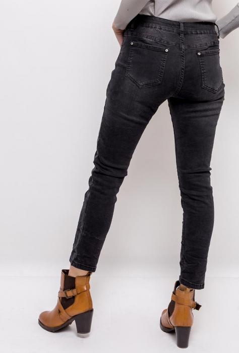 PACK 10 STARBEST women regular jeans with shiny stripes 3