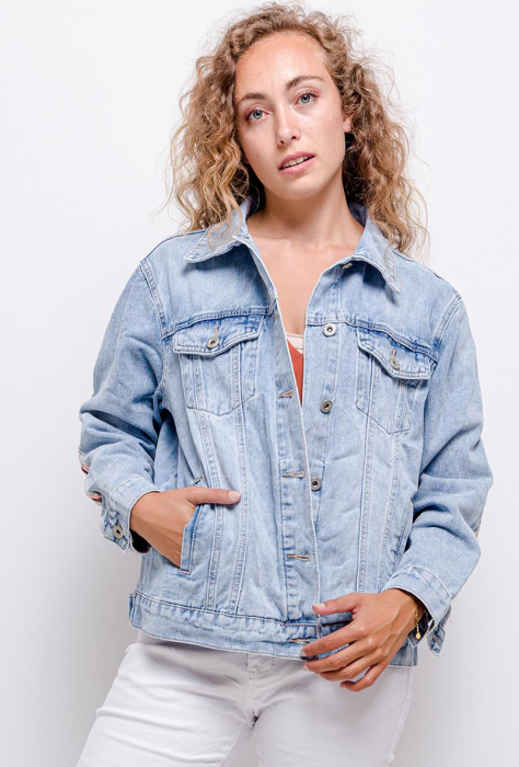 PACK 10 STARBEST Denim jacket with embroidery 2