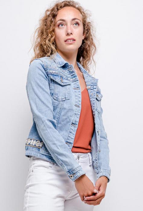 PACK 10 STARBEST Denim jacket with strass 0