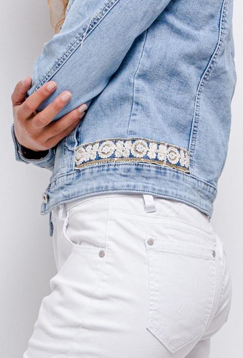 PACK 10 STARBEST Denim jacket with strass 1