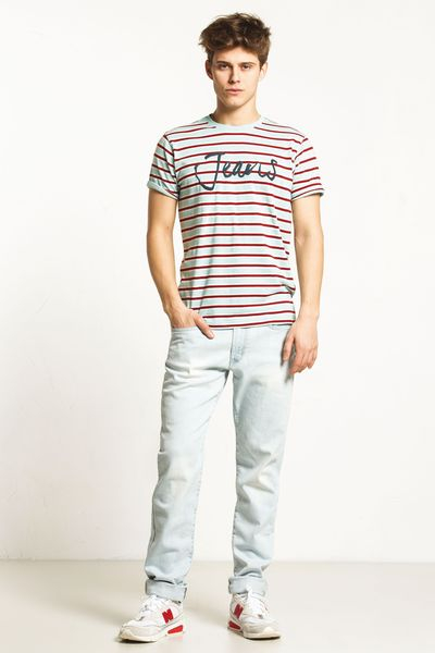PACK 10 CARRERA-LIGHT JERSEY STRIPED T-SHIRT ROUND NECK 2
