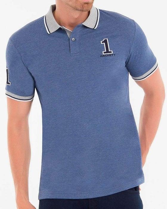 PACK 10 Hackett London Men's Polo Shirts Slim Fit 5