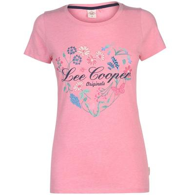 PACK 12 LEE COOPER T-SHIRT SOFT PINK 0