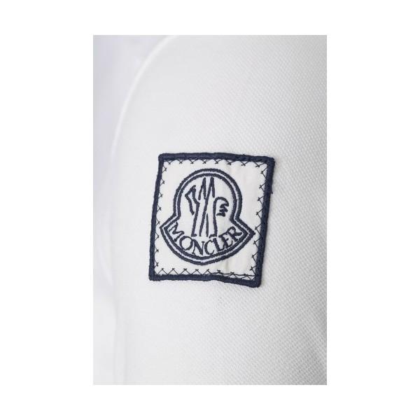 PACK 5 MONCLER Poloshirt Men-White 2