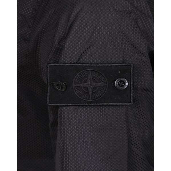 PACK 5 STONE ISLAND David-OVD Field Jacket -Black 2