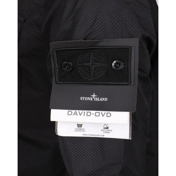 PACK 5 STONE ISLAND David-OVD Field Jacket -Black 3