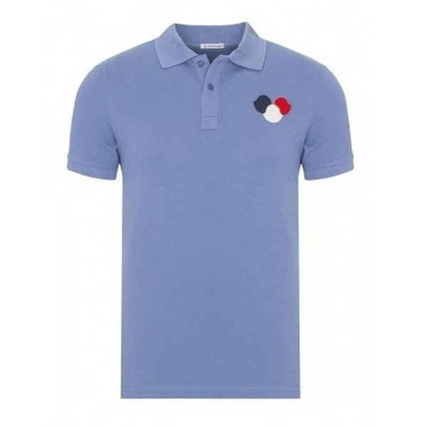 PACK 5 MONCLER Poloshirt – Light-Blue 0