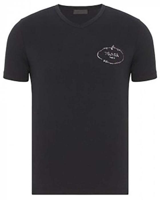 PACK 10 Prada Men's T-Shirt Crew Neck 0