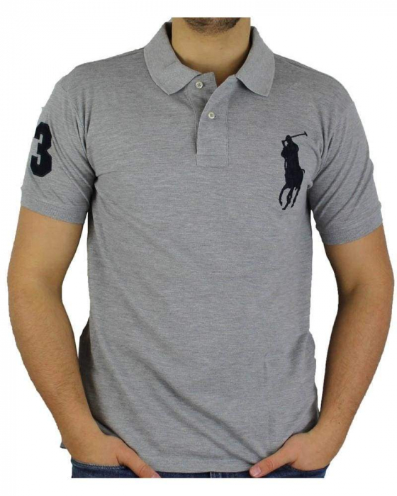 PACK 10 Ralph Lauren Custom Fit Men's Polo Shirts Big Pony 1