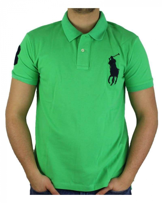 PACK 10 Ralph Lauren Custom Fit Men's Polo Shirts Big Pony 0