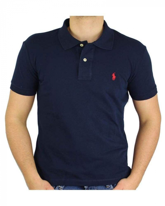 PACK 10 Ralph Lauren Custom Fit Men's Polo Shirts Small Pony 1