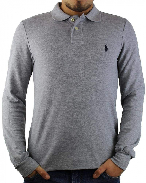 PACK 10 Ralph Lauren Men's Polo Shirts Long Sleeve Small Pony 1