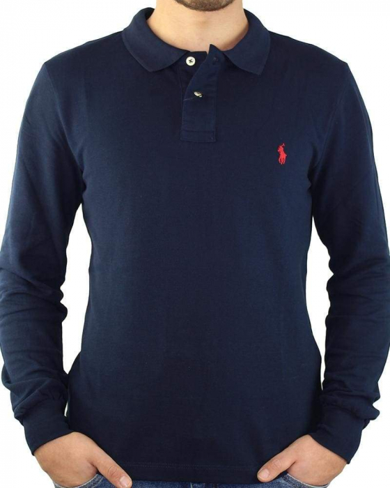 PACK 10 Ralph Lauren Men's Polo Shirts Long Sleeve Small Pony 2