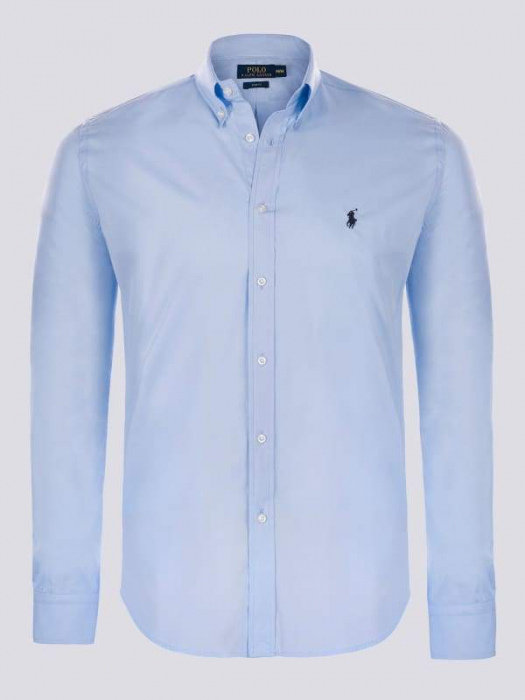 PACK 10 Ralph Lauren Men's University Shirts Light Blue 0