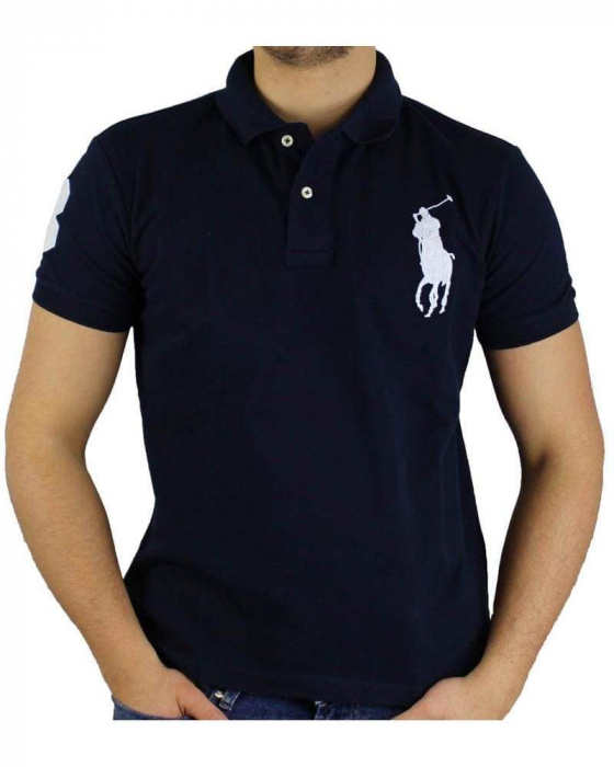 PACK 10 Ralph Lauren Custom Fit Men's Polo Shirts Big Pony 7