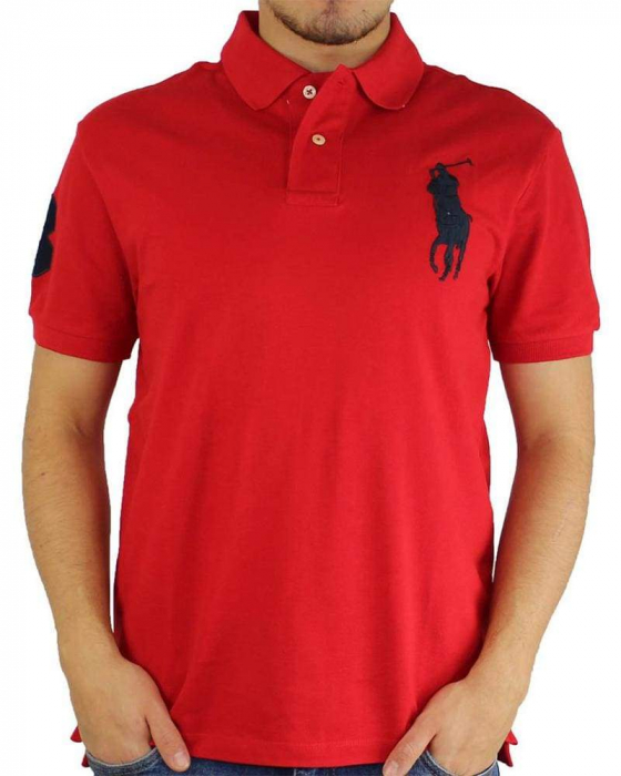 PACK 10 Ralph Lauren Custom Fit Men's Polo Shirts Big Pony 6