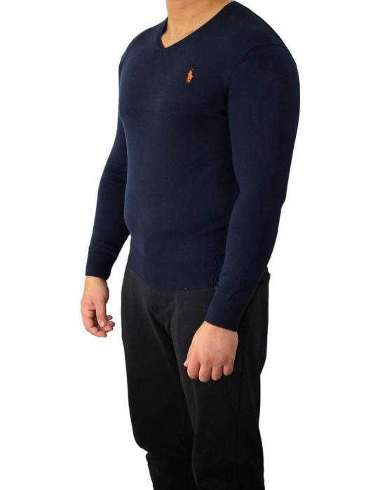 PACK 10 Ralph Lauren V Neck Men's Pullover Lila 7