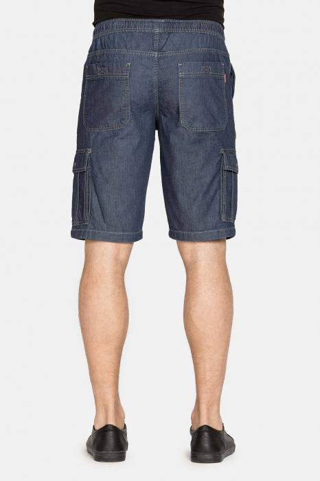 SHORT CARGO IN LIGHT DENIM STYLE 629 2