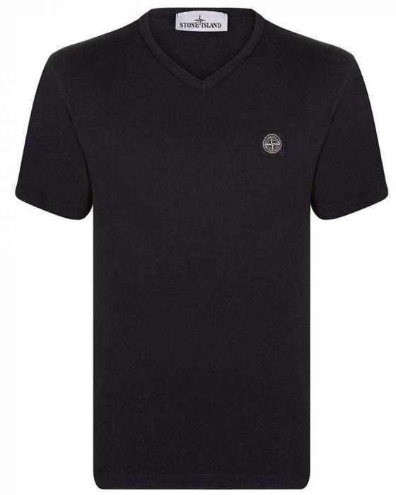 PACK 10 Stone Island Men's V - Neck Roll Brand T-Shirts 0