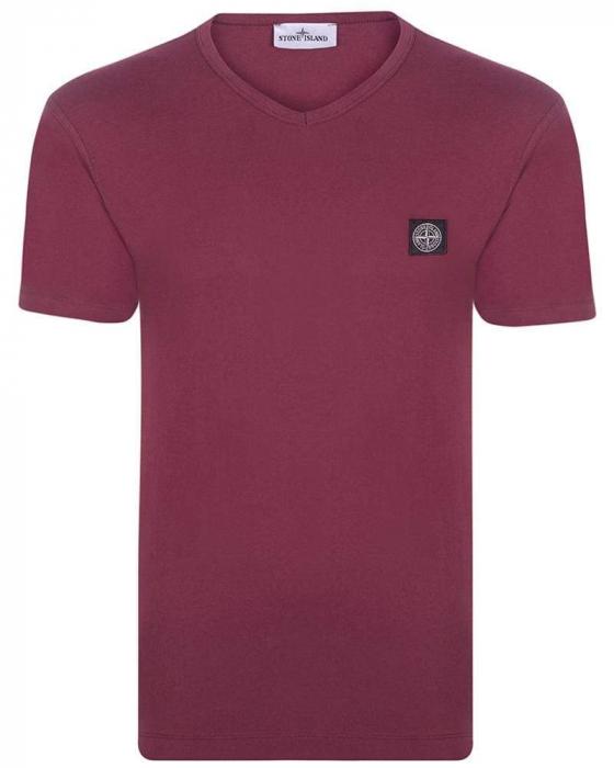 PACK 10 Stone Island Men's V - Neck Roll Brand T-Shirts 1