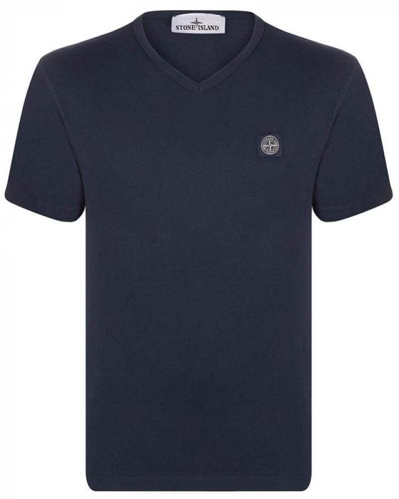 PACK 10 Stone Island Men's V - Neck Roll Brand T-Shirts 2