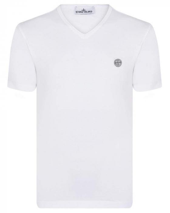 PACK 10 Stone Island Men's V - Neck Roll Brand T-Shirts 3