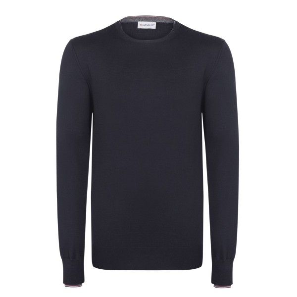 PACK 5 Men Sweater by Moncler Blue Navy 0