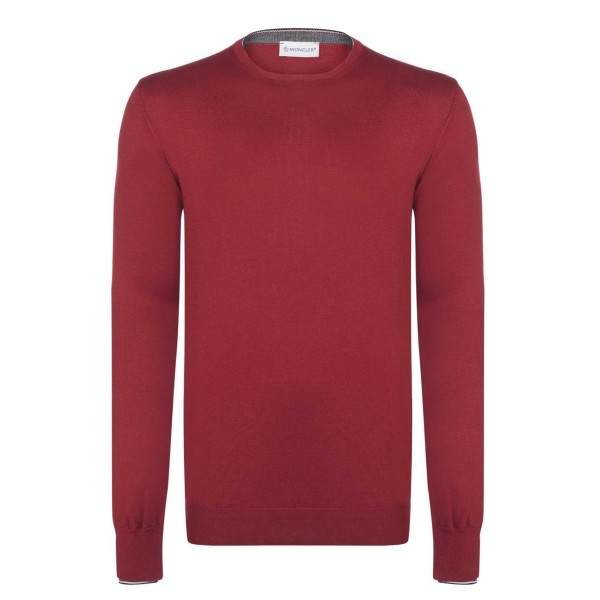 PACK 5 Men Sweater by Moncler Red 0