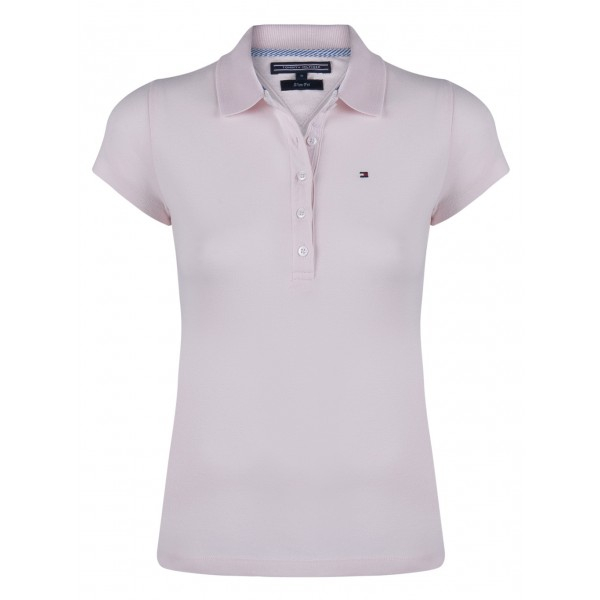PACK 5 Ladies polo piqué shirt by Tommy Hilfiger pink 0