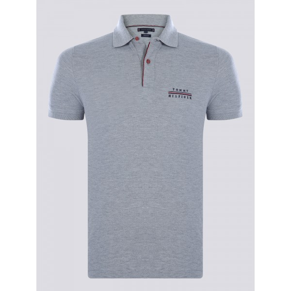 PACK 5 Tommy Hilfiger polo shirt-grey 0