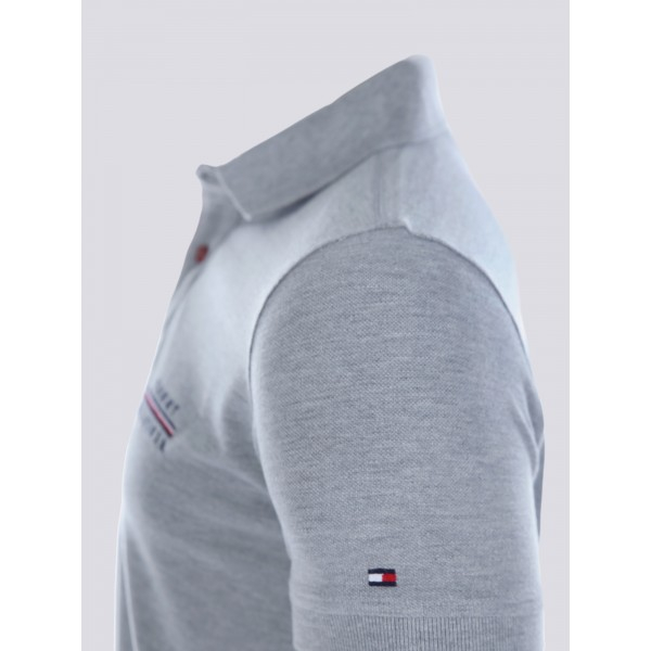 PACK 5 Tommy Hilfiger polo shirt-grey 1