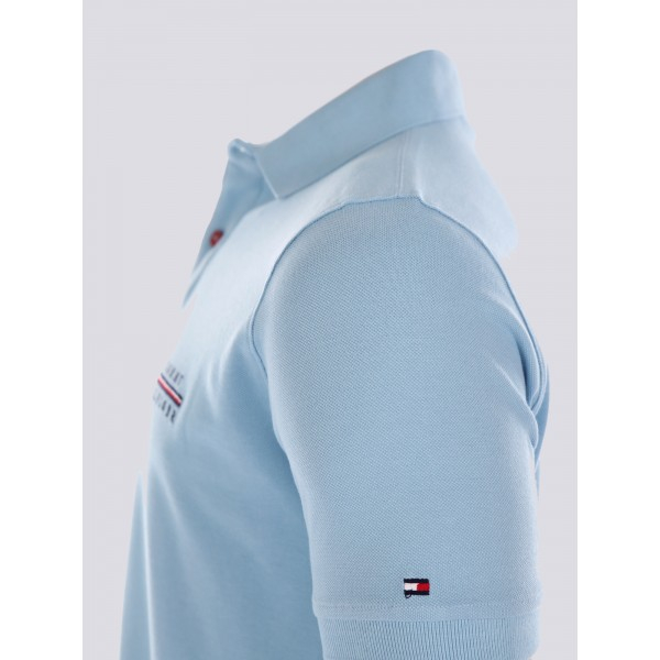 PACK 5 Tommy Hilfiger polo shirt light blue 1